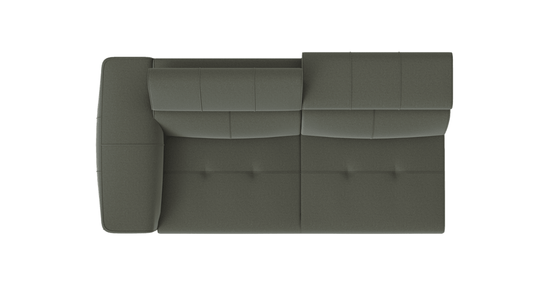 XOOON - Talisman - design Scandinave - Toutes les canapés - 2.5-places accoudoir gauche