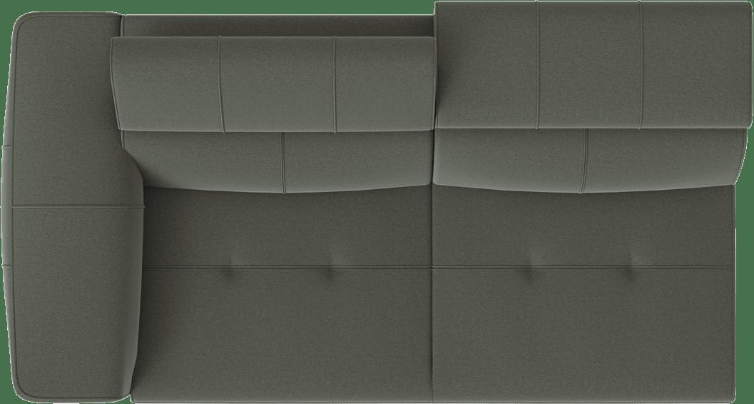 XOOON - Talisman - design Scandinave - Canapes - 2.5-places accoudoir gauche