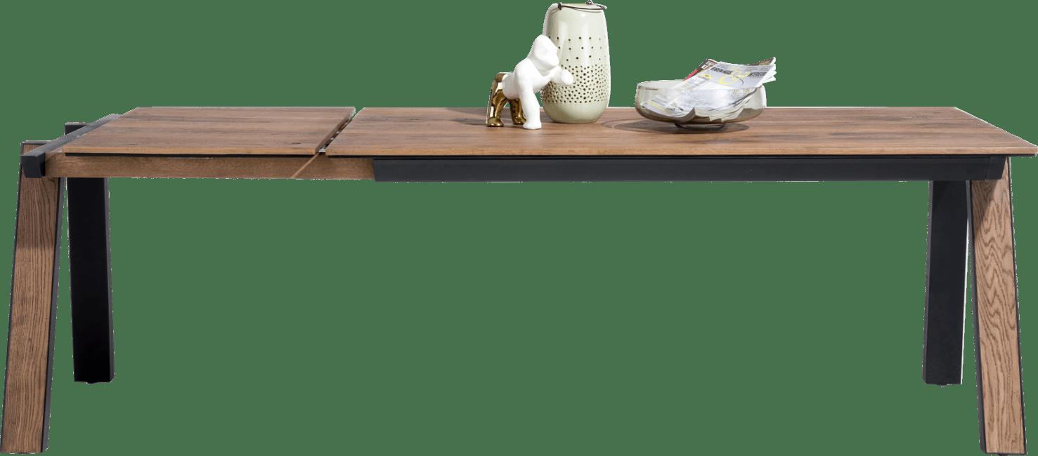 Henders & Hazel - Oxford - Natuerlich - ausziehtisch 170 x 100 cm. (+ 60 cm.)