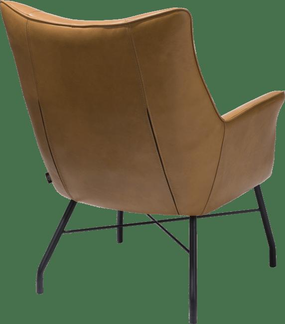 Henders and Hazel - Chiara - Modern - fauteuil + pocketvering - leder laredo