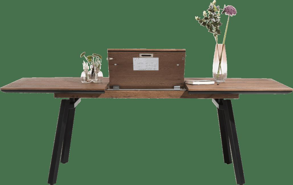 XOOON - Halmstad - Scandinavisch design - uitschuiftafel 160 (+ 60) x 100 cm