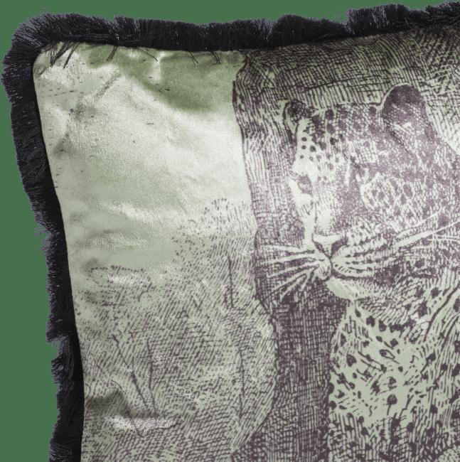 Happy@Home - Coco Maison - vintage leopard kussen 30x50cm
