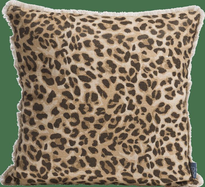 XOOON - Coco Maison - leopard print cushion 45x45cm