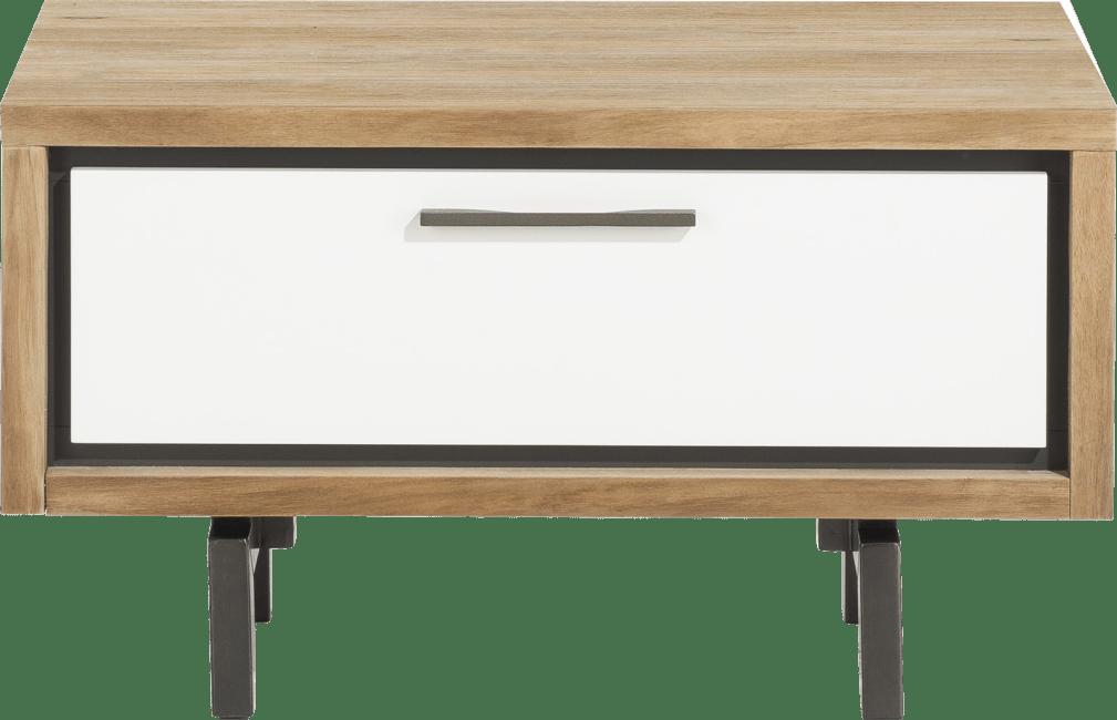 XOOON - Otta - Skandinavisches Design - lowboard 80 cm. / unterschrank fuer buecherregal 80 cm. + 1-lade