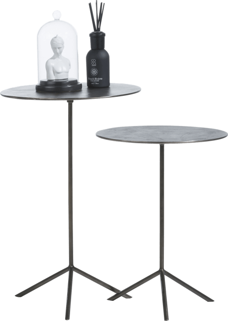 XOOON - Coco Maison - maelynn set of 2 side tables h57-47cm