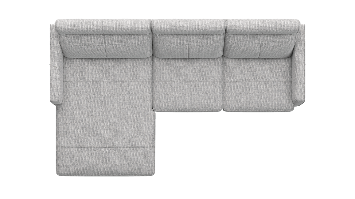 XOOON - Barcelona - Sofas - Longchair links - 2 Sitzer Armlehne rechts