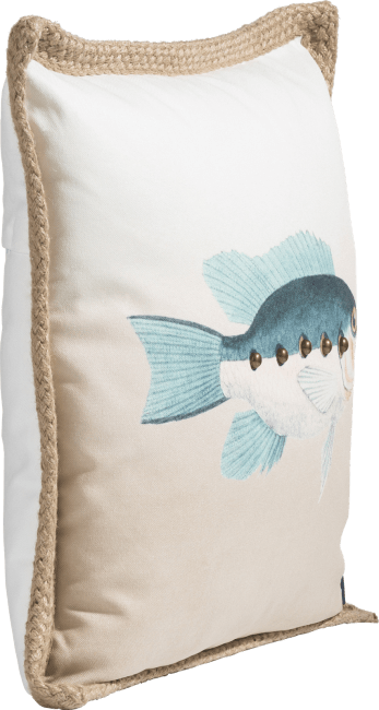XOOON - Coco Maison - fish cushion 50x50cm