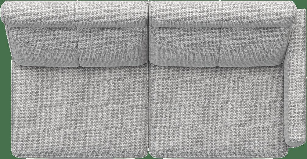 XOOON - Barcelona - Design minimaliste - Toutes les canapés - 2.5-places accoudoir droit