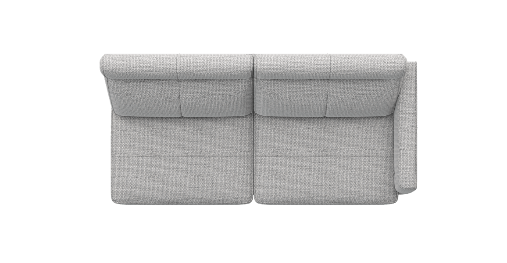 XOOON - Barcelona - Design minimaliste - Canapes - 2.5-places accoudoir droit
