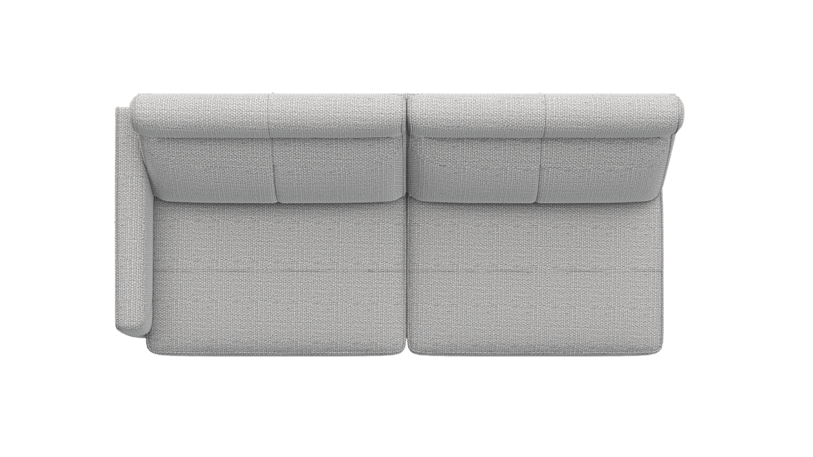 XOOON - Barcelona - Minimalistisches Design - Sofas - 3-sitzer armlehne links