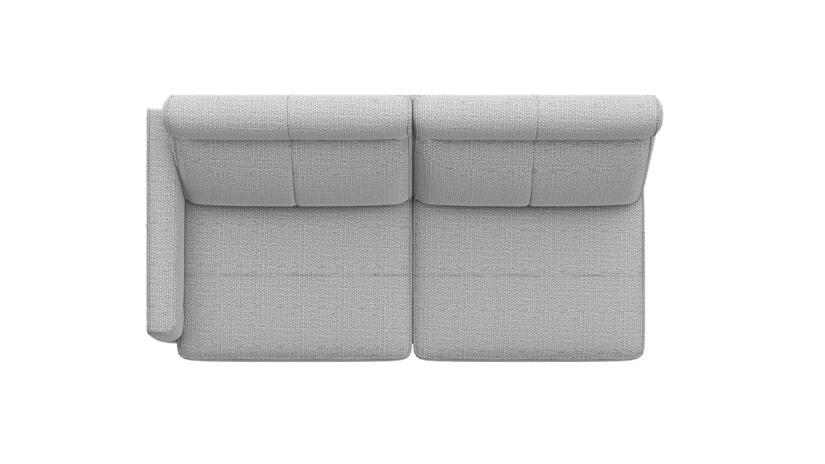 XOOON - Barcelona - Minimalistisches Design - Sofas - 2.5-sitzer armlehne links