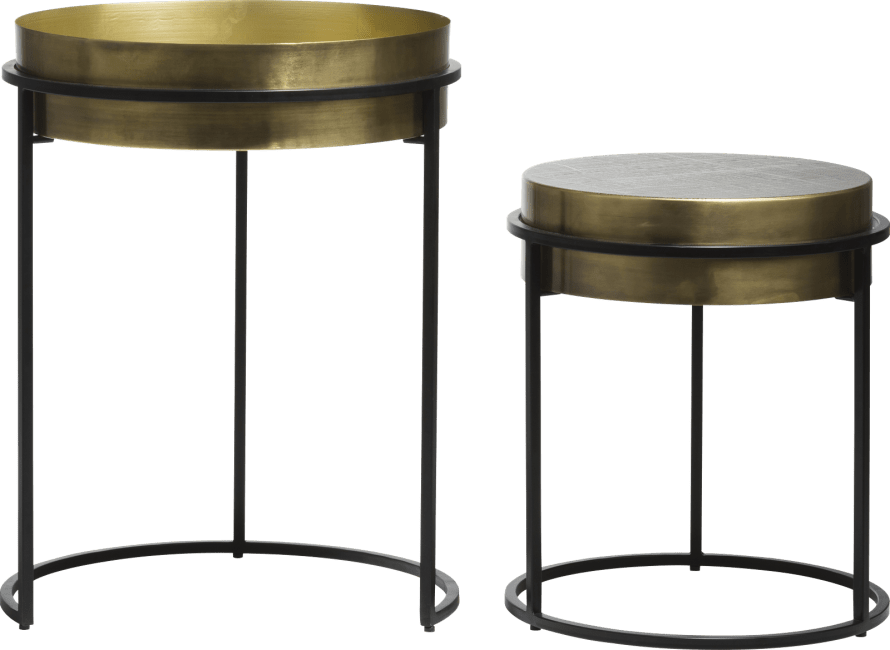 XOOON - Coco Maison - marise set of 2 side tables h58-43cm