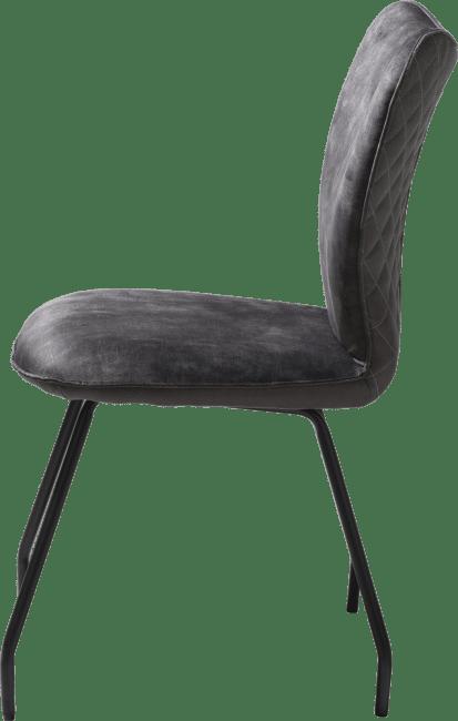 Henders & Hazel - Kim - chaise - combi rocky off black / serena