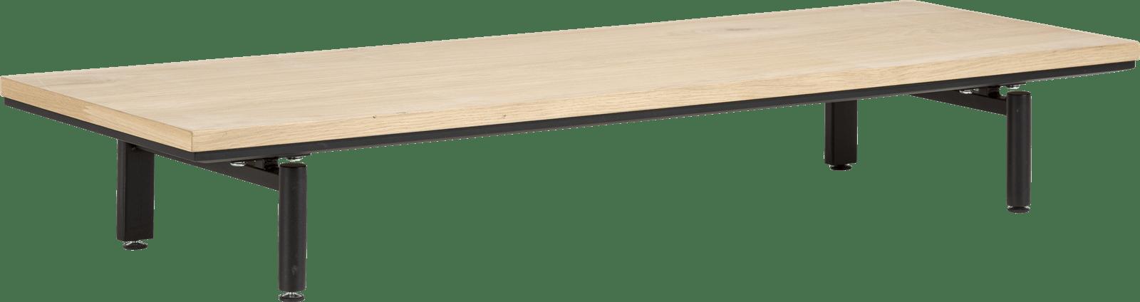 XOOON - Elements - Minimalistisch design - platform 130 cm. incl. 2 metalen poten