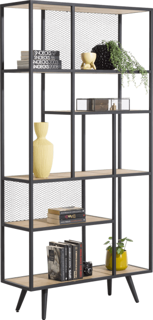 XOOON - Kinna - Scandinavisch design - roomdivider 100 cm - 5-niches