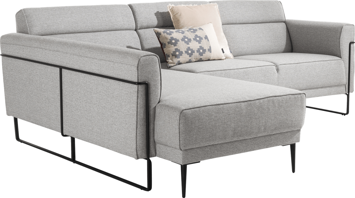 XOOON - Fiskardo - Skandinavisches Design - Sofas - longchair mit langem armlehne - links
