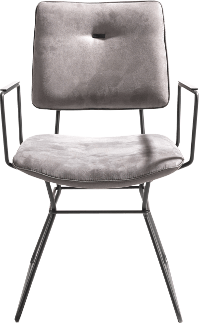 XOOON - Otis - Scandinavisch design - armstoel - zwart frame - kibo
