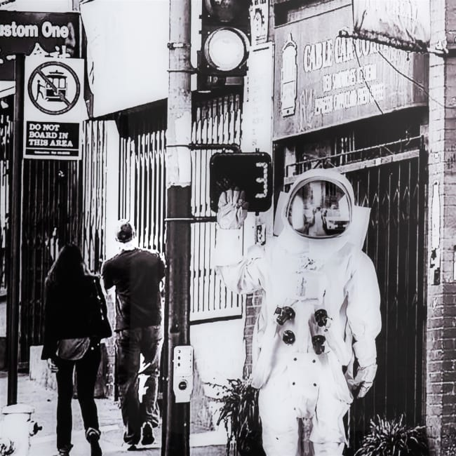 Happy@Home - Coco Maison - astronaut print 90x140cm