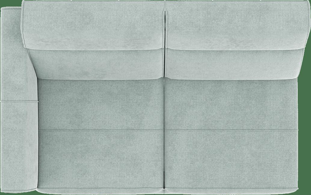 XOOON - Fiskardo - Skandinavisches Design - Sofas - 2-sitzer - small - armlehne links