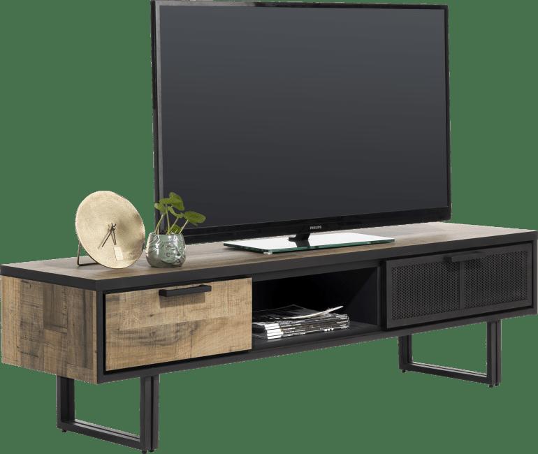 Henders and Hazel - Avalon - Industrie - tv-sideboard 160 cm. - 2-laden + 1-nische