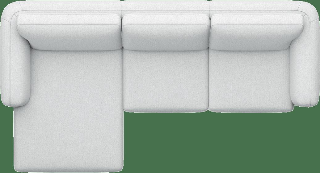 Henders and Hazel - Portland - Banken - Longchair links - 2,5-zits arm rechts