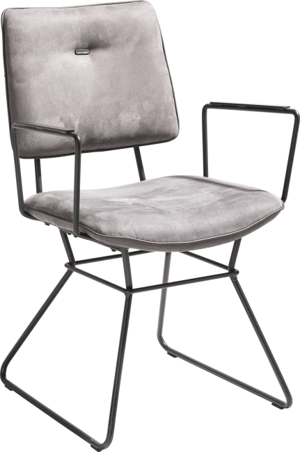 XOOON - Otis - design Scandinave - fauteuil - cadre noir - kibo