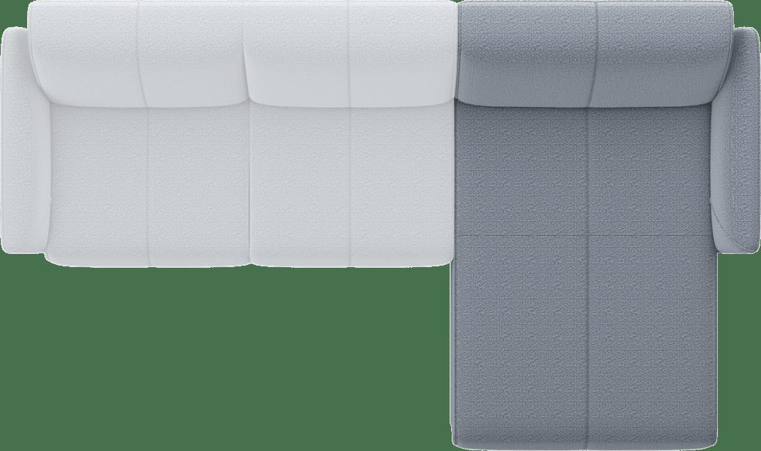 XOOON - Manarola - Minimalistisch design - Banken - longchair rechts