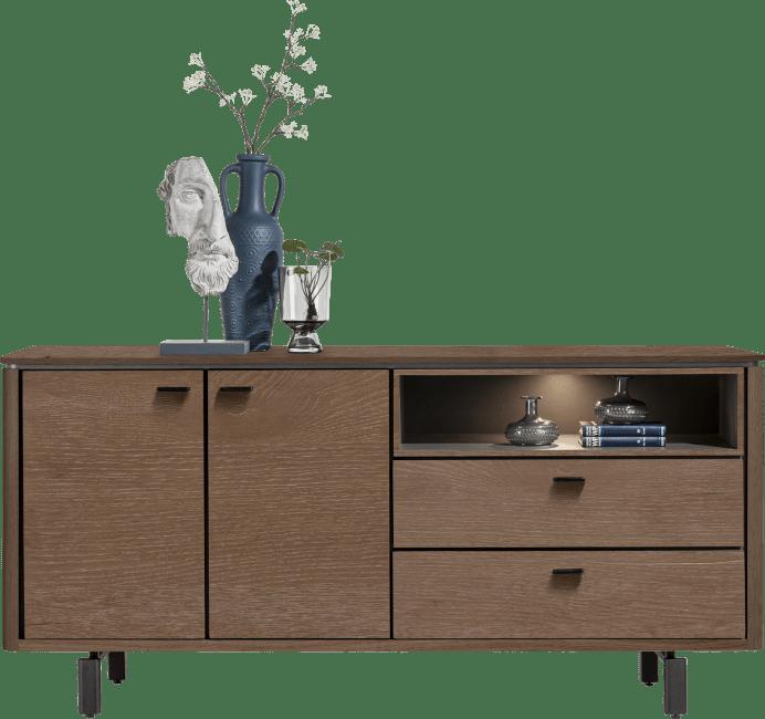 Henders & Hazel - Livada - Modern - sideboard 180 cm. - 2-tueren + 2-laden + 1-nische