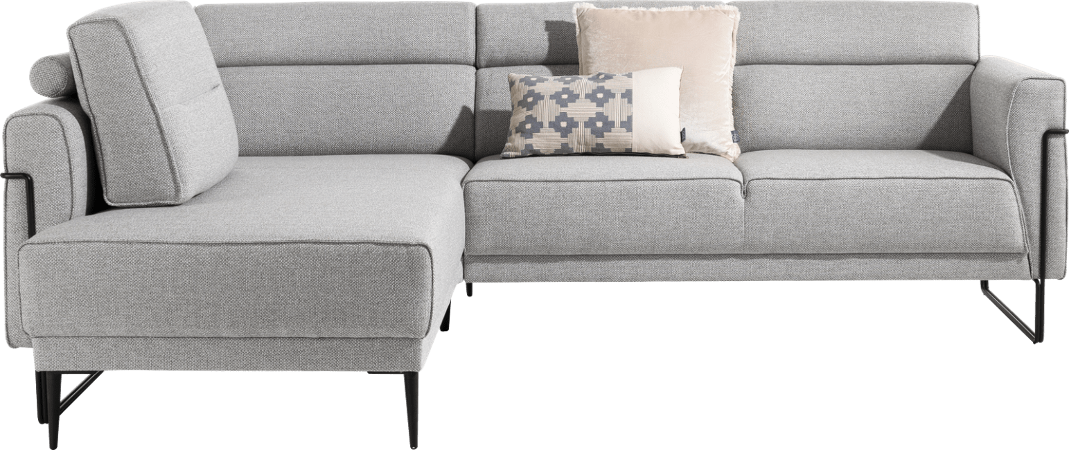 XOOON - Fiskardo - design Scandinave - Toutes les canapés - meridienne avec accoudoir long - gauche