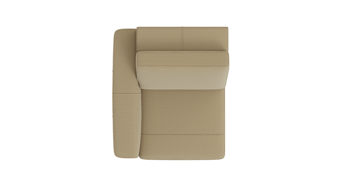 XOOON - Denver - Minimalistisches Design - Sofas - 1-sitzer armlehne links