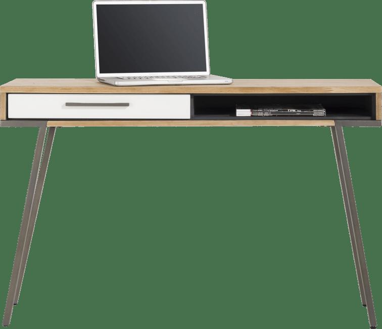 XOOON - Otta - Scandinavisch design - wandtafel 40 x 120 cm. + 1-lade + 1-niche
