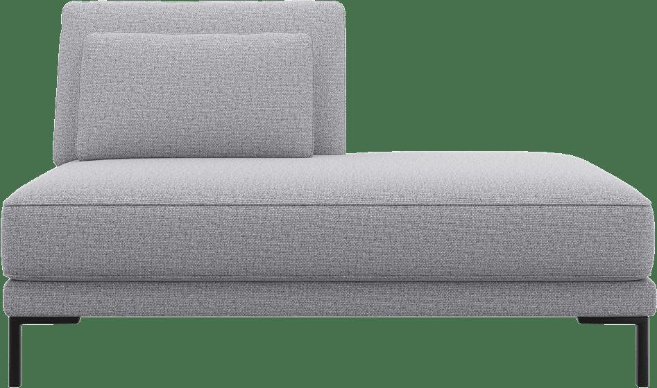 XOOON - Toledos - Design minimaliste - Canapes - ottomane petite droite