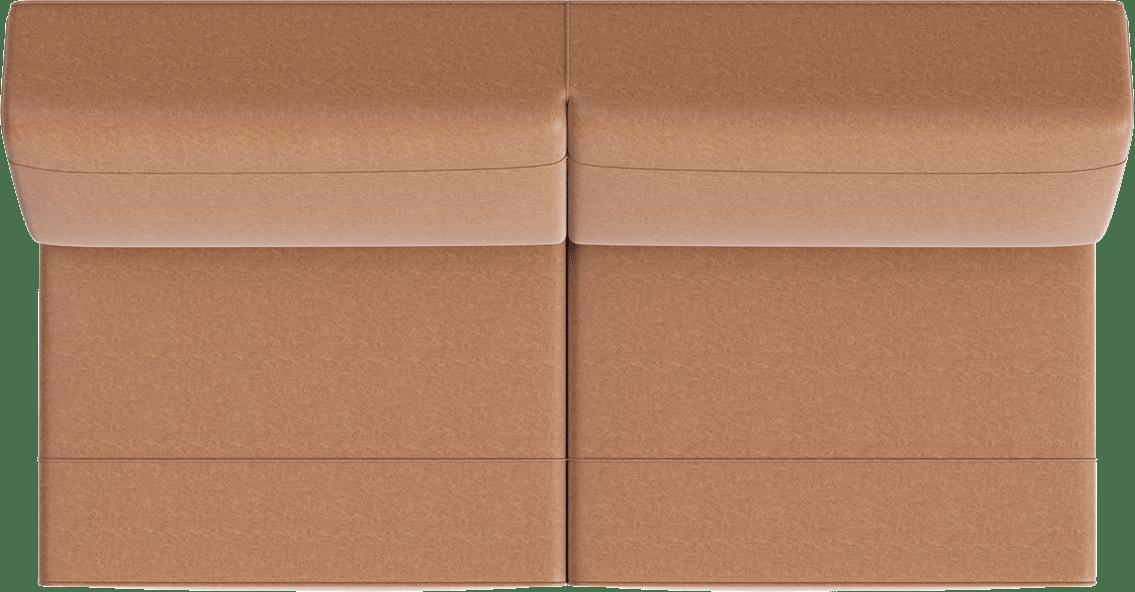 XOOON - Lima - Minimalistisch design - Banken - 3.5-zits zonder armen