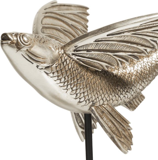 Happy@Home - Coco Maison - flying fish beeld h29cm