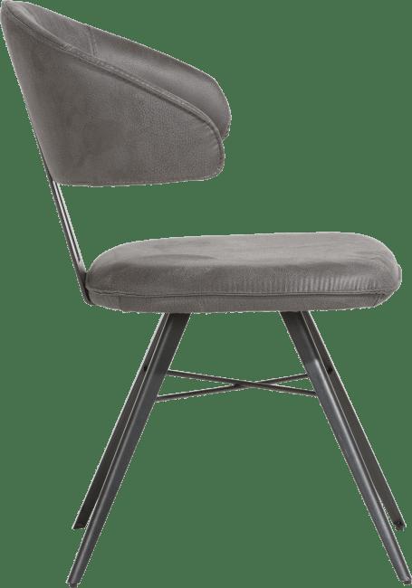 Henders & Hazel - Agnita - Modern - armstoel - metalen frame
