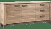 Falster - buffet 190 cm - 2-portes + 3-tiroirs