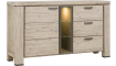 Coiba - dressoir 160 cm - 1-deur + 3-laden + 3-niches (+ led)