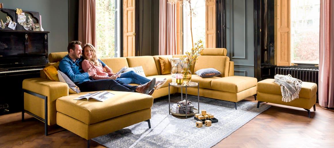 Canapé d'angle Napels