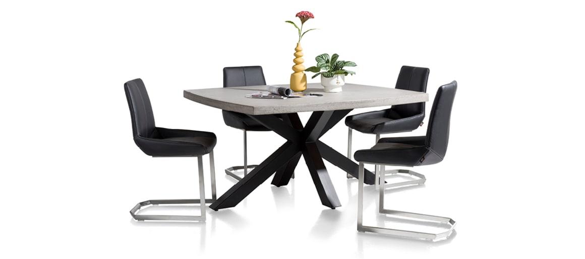 Tisch Maestro mit Stuhl Levi