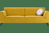 tissu monta jaune