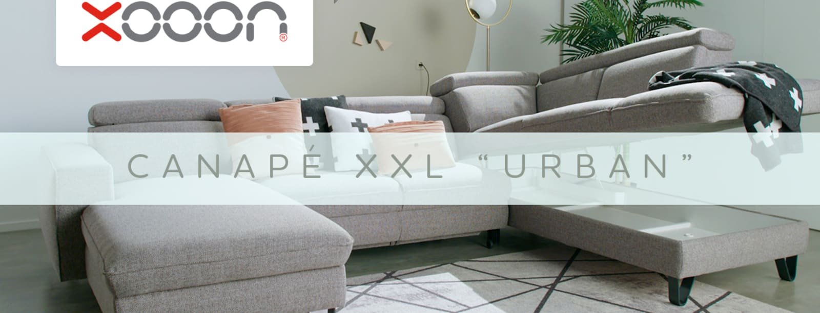 Le canapé confort avec espace de rangement