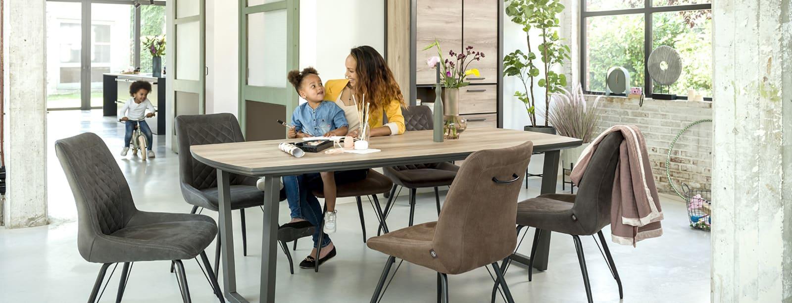 kompakte Möbel mit modernem Touch