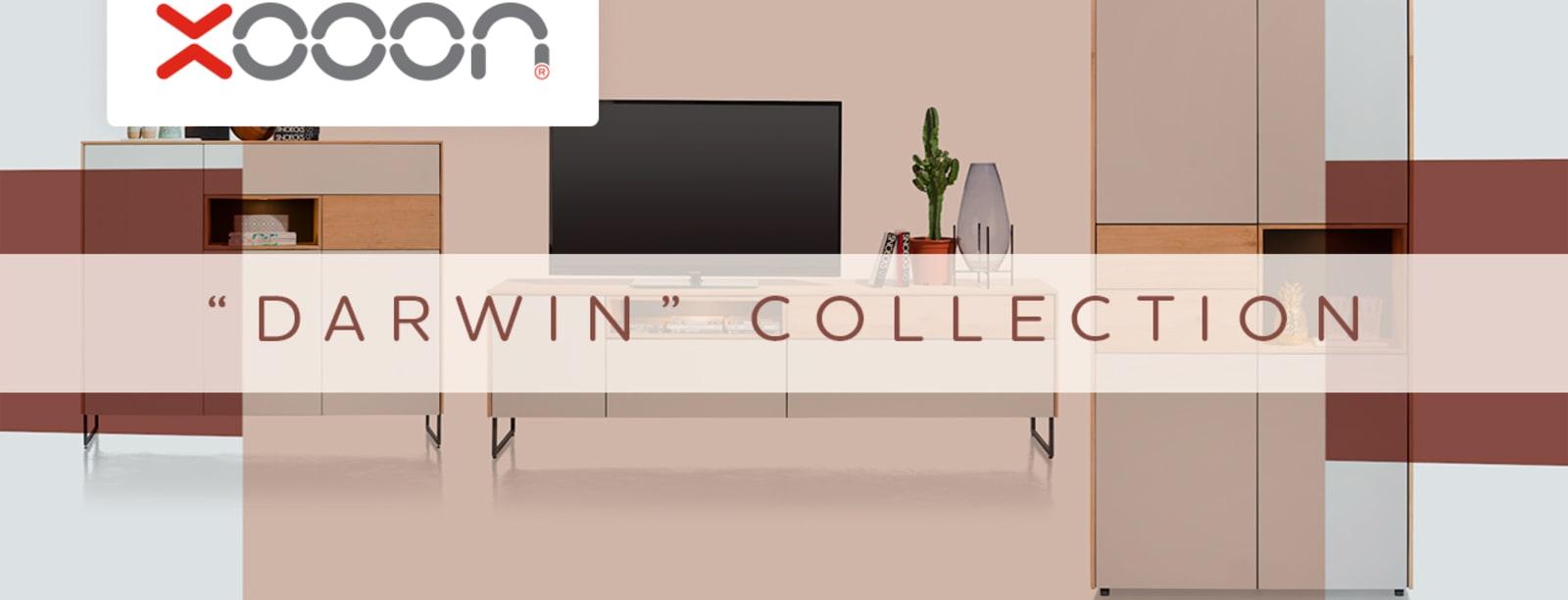 "Minimalist furniture in the ""DARWIN"" collection"