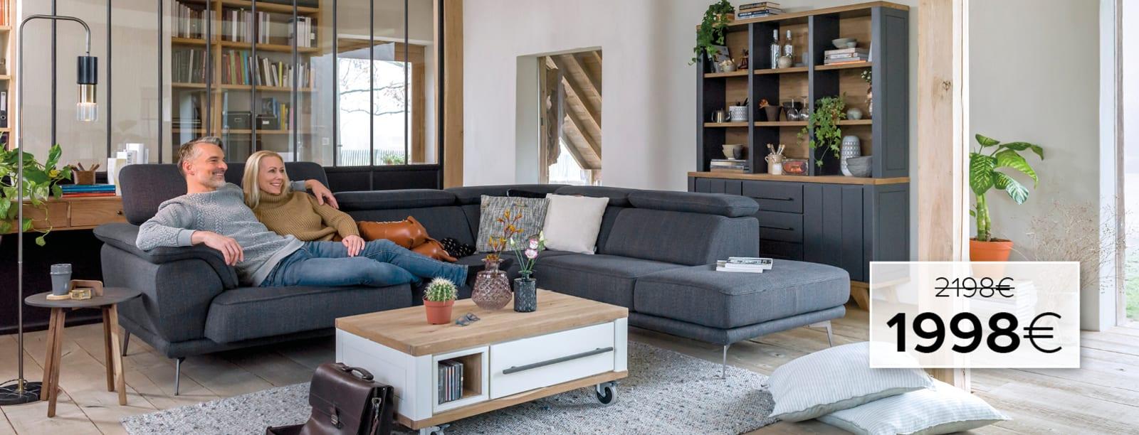 Voici le canapé parfait, notre magnifique Santiago!