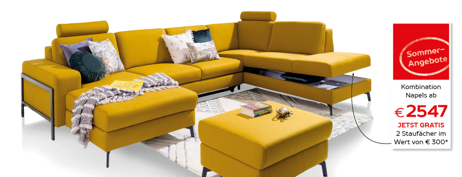 Unsere vielseitigste Couch!