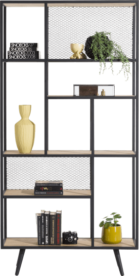 roomdivider 100 cm - 5-niches