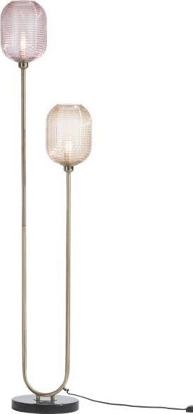 maxime floor lamp 2*e27