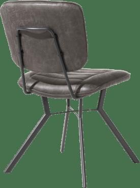 chaise 4 pieds avec liaison crois e - tissu secilia