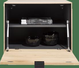box 45 x 60 cm. + regal - zum aufhaengen + klappe