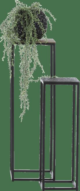 maggy set of 2 pillars h80-60cm